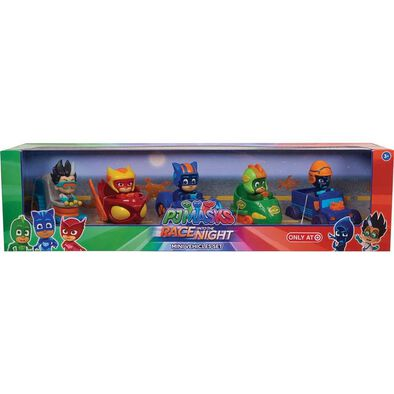 PJ Masks Race Into Night Mini Vehicles Set