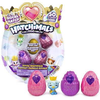 Hatchimals Colleggtibles S6 4-Pk + Bonus