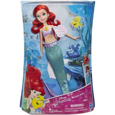 Disney Princess Singing Ariel Doll
