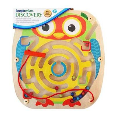 Universe Of Imagination - Wooden Magnetic Maze Puzzle 2 - Assorted