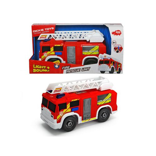 Dickie Toys Fire Rescue Unit Red 30cm
