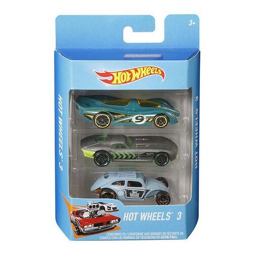 Hot Wheels Basic Car 3 Pack - Assorted