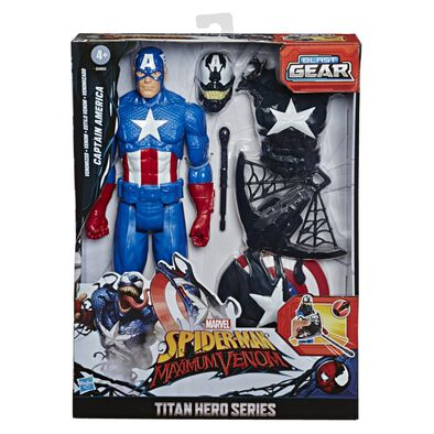 Marvel Spider-Man Titan Hero EXCL Venomized