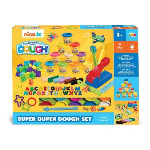 Nick Jr Ready Steady Dough Super Duper Dough Set