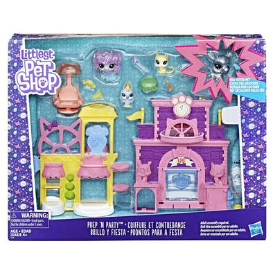 Littlest Pet Shop Sparkle Prep 'N Party Playset
