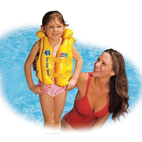 Intex Deluxe Swim Vest Pool School Step 2