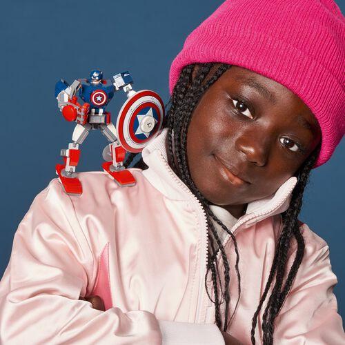 LEGO Marvel Avengers Captain America Mech Armor 76168