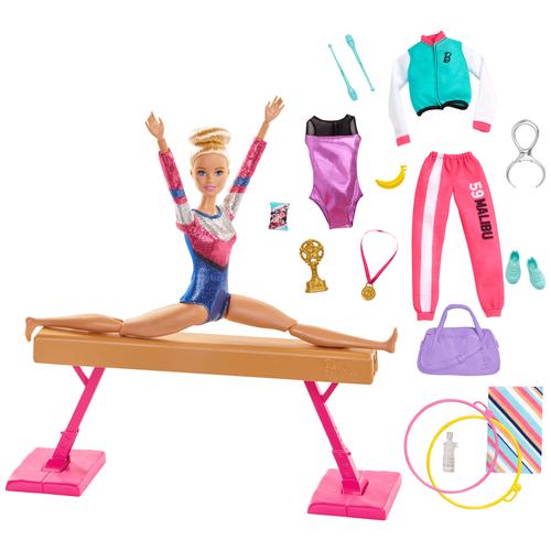 Barbie Doll Gym Playset