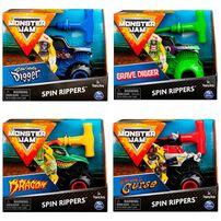 Monster Jam 1:43 Rev and Roar Truck - Assorted