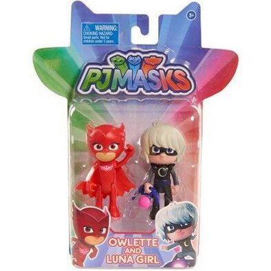 Pj Masks Light Up Owlette Vs. Luna Girl
