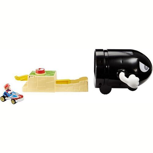 Hot Wheels Mario Kart Bullet Bill Play Set