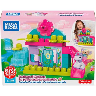 Mega Bloks First Builders Flower Fairies Enchanted Cottage