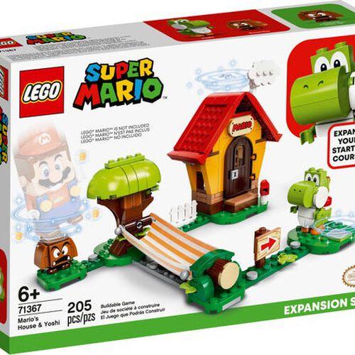 LEGO Super Mario Mario's House & Yoshi Expansion Set 71367
