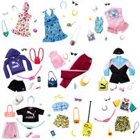 Barbie Lic Fashion Storytelling - Assorted