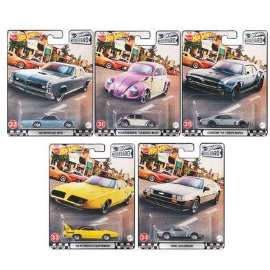 Hot Wheels GTJ68 Boulevard Dash G Set of 10