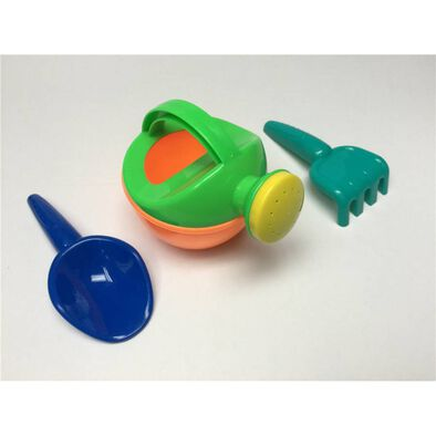 Sizzlin' Cool Watering Pot And Tool Set