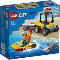 LEGO City Beach Rescue ATV 60286