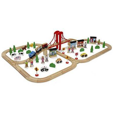 Imaginarium 81Piece Mega Value Train Set