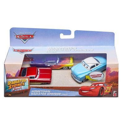Disney Cars Cars Rs Diecast 3Pk