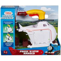 Thomas & Friends Press 'N Spin Harold Helicopter