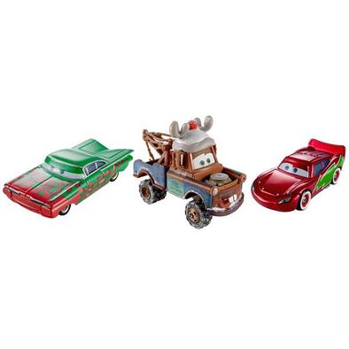 Cars-Disne Cars Holiday Diecast - Assorted