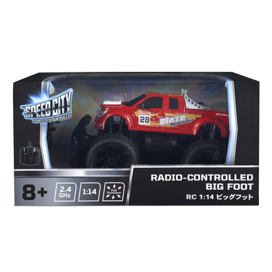 Speed City Radio-Controlled Big Foot