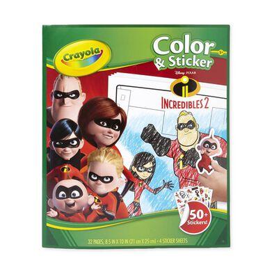 Crayola Color & Sticker Incredible2