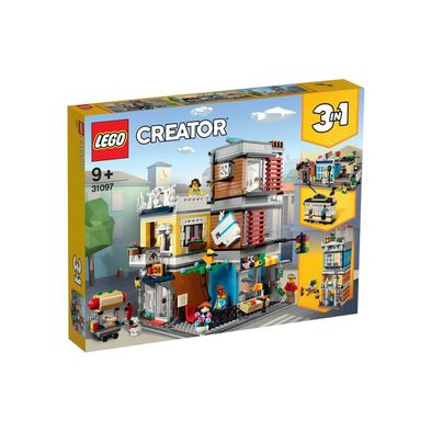 LEGO Creator Townhouse Pet Shop and Café 31097