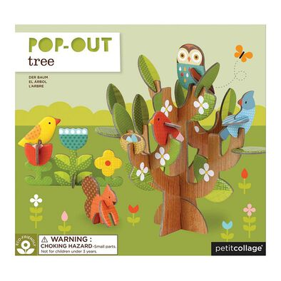 Petit Collage Pop Out Tree