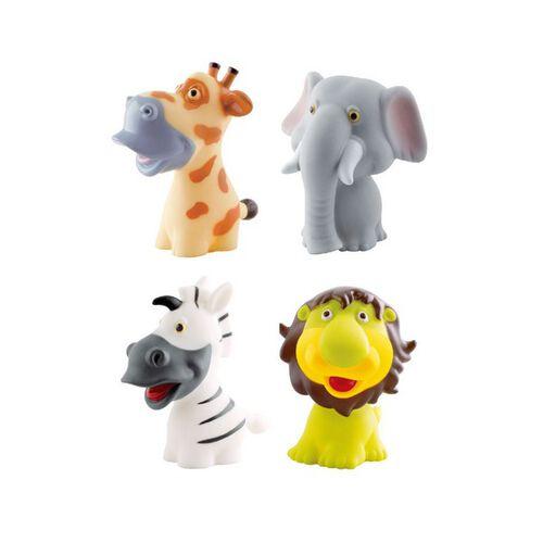 Simple Dimple My 1st Toy Premium Animals Vinyl Toy 2Pcs Set - Assorted