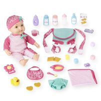 "You & Me 16"" Baby Doll With Carrier Set"