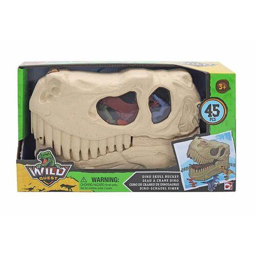 Wild Quest Bucket Dino Head