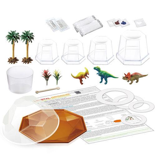 4M Dinosaur Crystal Terrarium