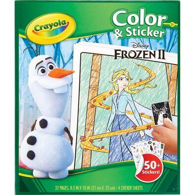 Crayola Disney Frozen 2 Color and Sticker