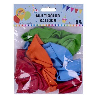 Multicolor Latex Balloon 20 Pieces