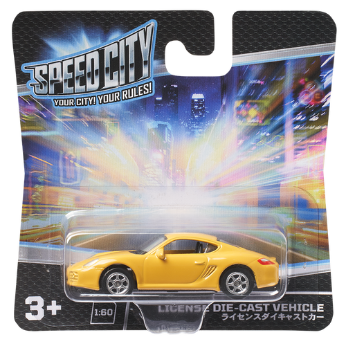 Speed City License Die-cast Vehicle - Assorted