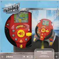 Speed City Junior Racing Steering Wheel