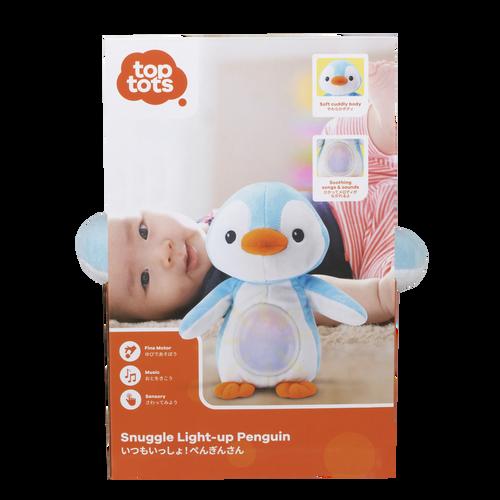 Top Tots Snuggle Light-Up Penguin