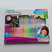 Intex 50Pc Jumbo Gel Pen Set
