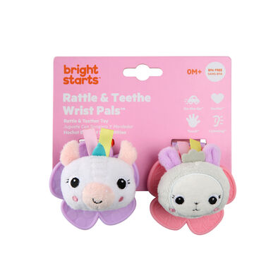 Bright Stars Wrist Pals Toy - Unicorn & Llama