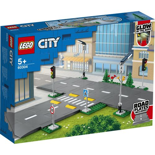 LEGO City Road Plates 60304