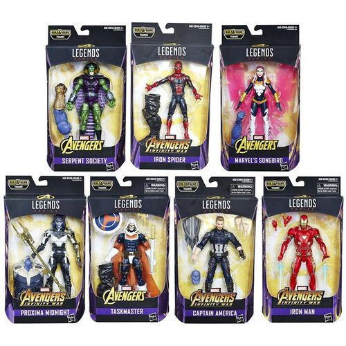 Marvel Avengers Infinity War 6 Inch Legends Thanos Baf Series - Assorted