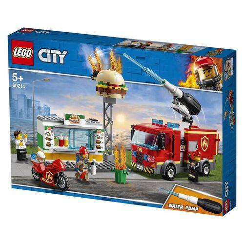 LEGO City Burger Bar Fire Rescue 60214