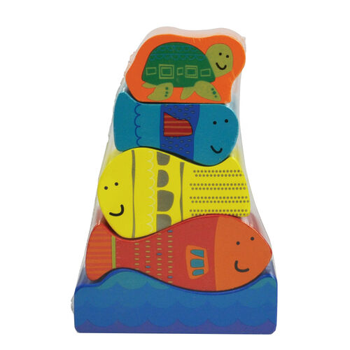 Universe Of Imagination Cube Puzzle/Stacker/Shoe - Assorted