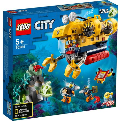 LEGO City Oceans Ocean Exploration Submarine 60264