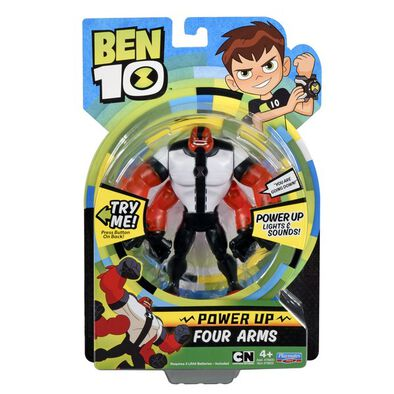 Ben 10 Power Up Four Arms W/ Int'L Ic In ( 76600Intz-08 )