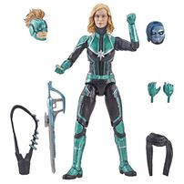 Captain Marvel 6In Legends Sycamore Silver