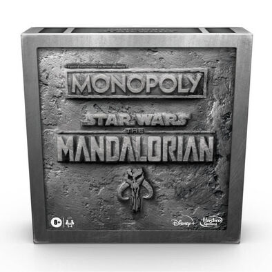 Monopoly Star Wars The Mandalorian Edition