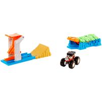 Hot Wheels Monster Trucks Launch & Bash Playset