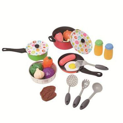 Just Like Home Metal Cooking Set